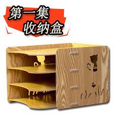 organiseur de bureau en bois fait à la diy organisateur de bureau en bois bureau fournitures