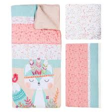 Pink And Teal Crib Bedding Trend Lab Forever 3 Crib Bedding Set