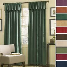 drapes for a sliding glass door long green fabric curtains with draper on the top placed on the