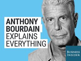 Anthony Bourdain Scrambled Eggs Amazon Com Anthony Bourdain Explains Everything Anthony Bourdain