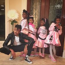 Halloween Costumes Pink Ladies Halloween Costumes 2015 Singer August Alsina Nieces