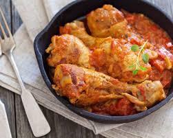 recette cuisse de poulet aux tomates à la bière facile rapide