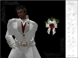 mens boutineer second marketplace grooms mens boutonniere