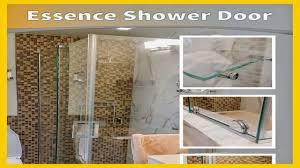 c r laurence m6020 crl chrome sliding shower door towel bar