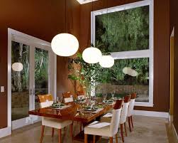 Asian Dining Room Furniture Interior Luxurious Asian Dining Room Decor With Brown Wall Using
