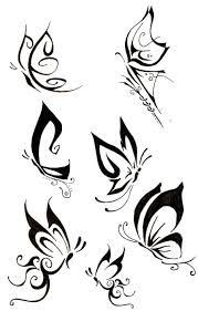 more tribal butterfly designs tattoos