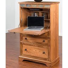 Laptop Desk Armoire Sunny Designs Sedona Oak Laptop Armoire Free Shipping Today