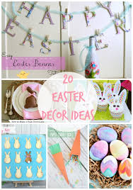 Easter Decorations Diy Ideas by 20 Diy Easter Ideas Link Party Features I Heart Nap Time