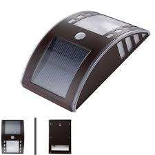 solar bright lights outdoor 2016 new stylish 3 led bright solar powered wireless security motion
