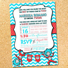 dr seuss baby shower invitations thing 1 and thing 2 printable baby shower invitation dr seuss