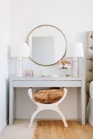 marvelous bedroom vanity vintage set under 100 rounded wall marvelous bedroom vanity vintage set under 100 rounded wall mirror white table white frame brown fur seat stool