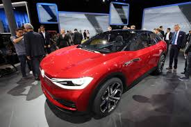 all electric vw i d crozz ii concept gets one step closer to