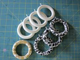 Gold Curtain Rings How To Make Decorative Curtain Rings