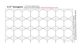 hexagon templates pdf google drive