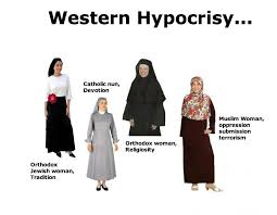 only muslim women wear covers have you met islam