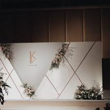 wedding backdrop modern 66 likes 1 comments kaidang design kaidangdesign on