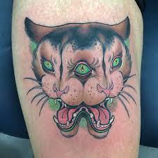 3 eyed mirror cat tattoo tattoo geek ideas for best tattoos