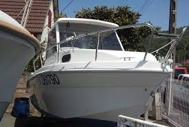 cabin fisher saver 540 cabin fisher 2006 occasion argus du bateau