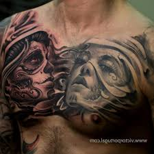 and evil chest tattoos 1000 images about vs evil on