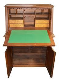 Secretary Computer Desk by Antique Victorian Walnut Slant Top Secretary Desk From