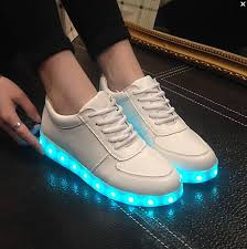light up tennis shoes for adults led luminous shoes men women fashion sneakers usb charging light up
