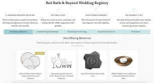bed bath bridal registry 10 of the best places to set up your wedding registry