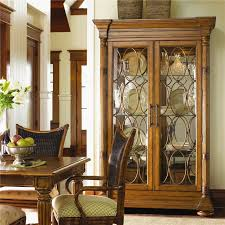 island estate mariana display cabinet with lighted interior