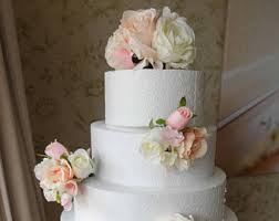 wedding cake greenery wedding cake flowers etsy