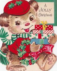360 best dogs vintage christmas cards images on pinterest