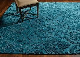 Ethan Allen Area Rugs Jacquard Damask Rug Turquoise Damask Floral Rugs