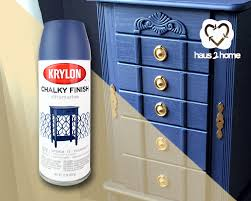 valu home centers armoire makeover with krylon chalky finish