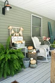 fall front porch let u0027s sit awhile grace in my space