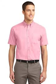 light pink shorts mens port authority s508 dress mens short sleeve easy care shirt the