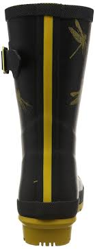 buy boots discount joules s molly welly wellington boots black dragonfly shoes