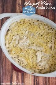 cuisine ww weight watchers chicken hair pasta bake recipe a s take