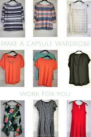 make a capsule wardrobe work for you