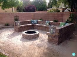 How To Make A Fire Pit With Bricks - 30 spectacular backyard diy fire pit seating ideas