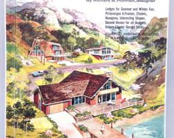 Midcentury Modern House Plans - mid century modern vacation home plans a frames house design