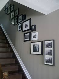 Staircase Wall Ideas Best 25 Stairway Wall Decorating Ideas On Pinterest Stairway