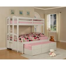 White Bunk Bed With Trundle Full Bed Full Size Bunk Beds With Trundle Mag2vow Bedding Ideas