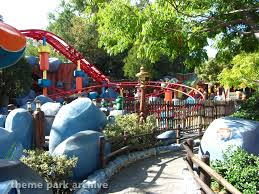 backyard theme park gadget s go coaster at disneyland theme park archive