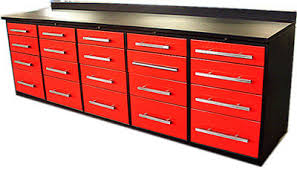 Bench Metal Work China Metal Work Bench Countertop Cabinet With Drawers For Garage