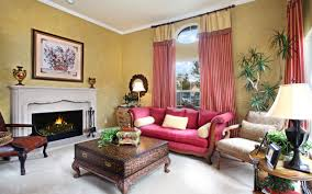 Living Room Curtains Traditional Classic Traditional Living Room Furniture With Cozy Curtain