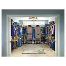 3 shelf corner closet organizer natural grey rona