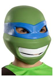 Teenage Mutant Ninja Turtles Halloween Costumes Girls Child Tmnt Leonardo 3 4 Mask