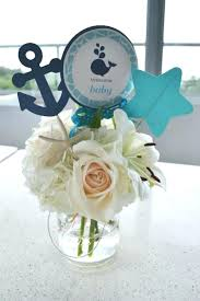 baby shower flower centerpieces decor for baby shower boy baby boy shower centerpieces for tables