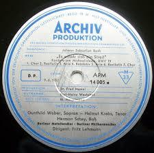 chambres d h es dr e cantata bwv 19 recordings details discography part 1 complete
