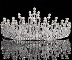 lace headwear simple design beauty pageant crown lace headwear beauty