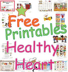 healthy heart activities coloring sheets puzzles learning