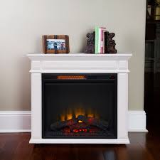 caiden infrared electric fireplace heater in white cs 23irm wht